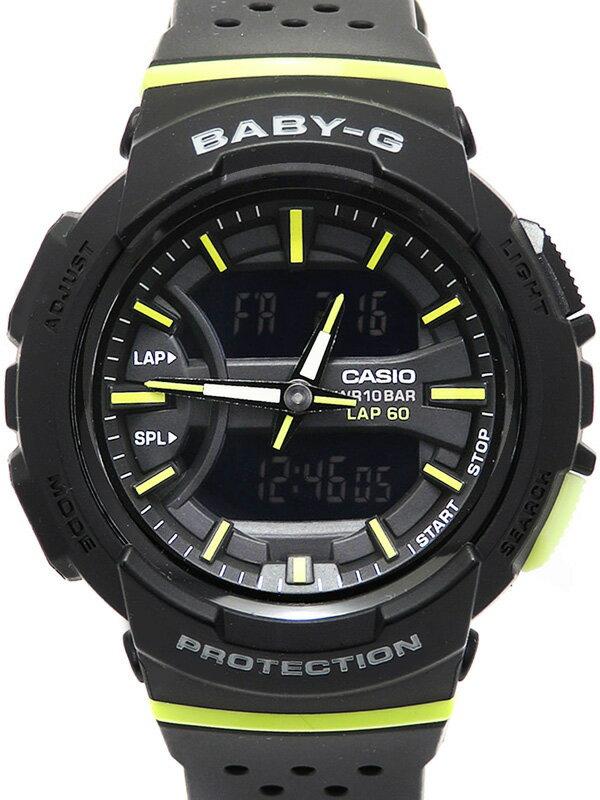 【CASIO】【BABY-G】カシオ『ベビーG ~for running』BGA-240-1A2JF レディース クォーツ 1週間保証【中古】