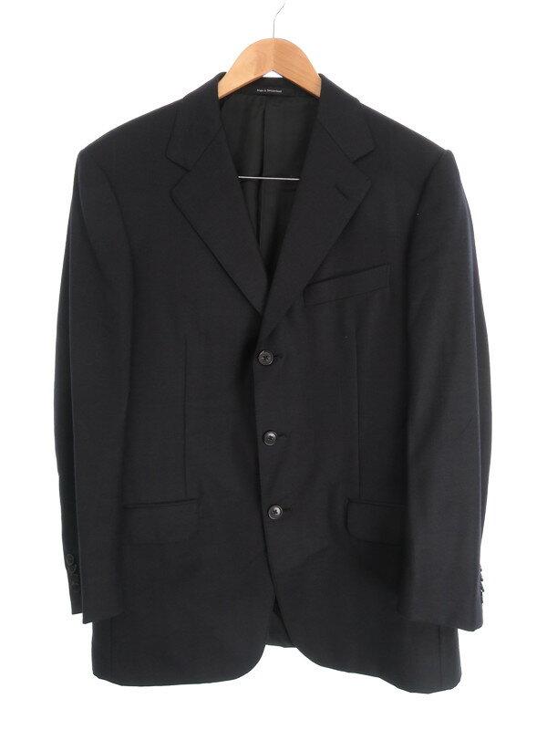 【ERMENEGILDO ZEGNA】【上下セット】エルメネジルドゼニア『シングルスーツ size48』メンズ セットアップ 1週間保証【中古】