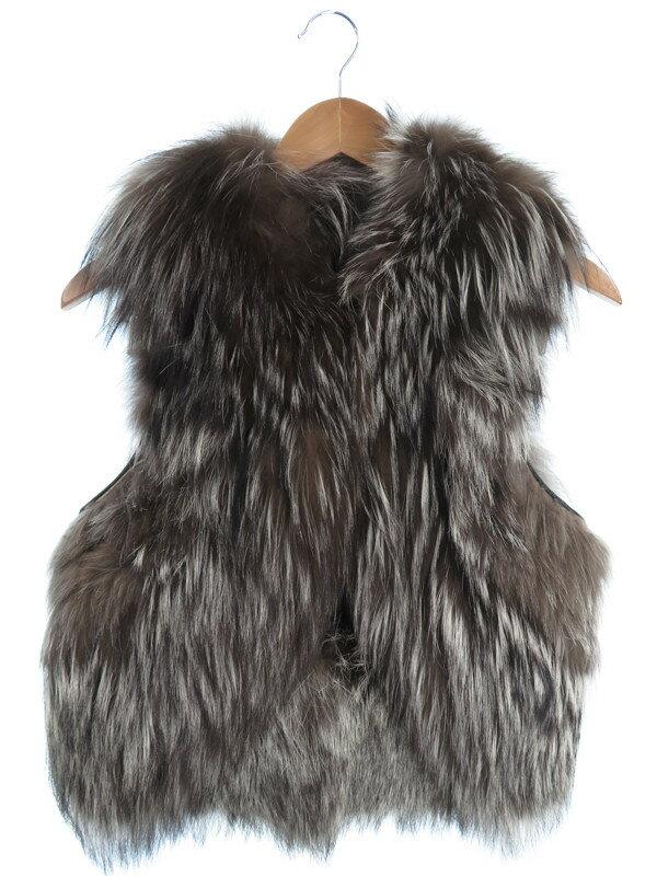 【CELINE】【アウター】セリーヌ『毛皮ベスト size38』レディース 1週間保証【中古】