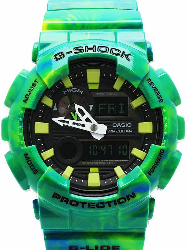 【CASIO】【G-SHOCK】【美品】カシオ『Gショック Gライド』GAX-100MB-3AJF メンズ クォーツ 1週間保証【中古】