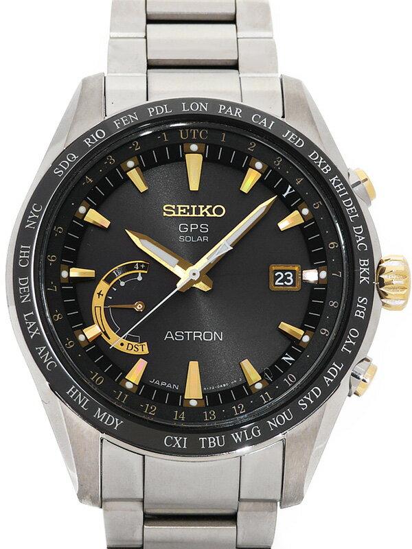 【SEIKO】【美品】セイコー『アストロン』SBXB087 64****番 メンズ ソーラーGPS 1ヶ月保証【中古】