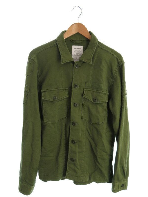 【JIMMY TAVERNITI】【ミリタリー】ジミータヴァニティ『シャツジャケット sizeL』81261029 メンズ ミリタリーシャツ 1週間保証【中古】