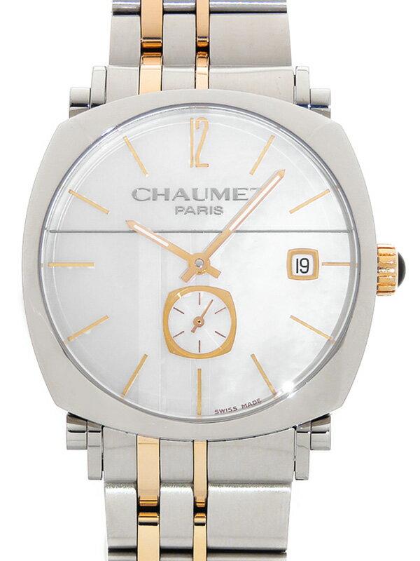【CHAUMET】ショーメ『ダンディ』W11770-26E メンズ 自動巻き 3ヶ月保証【中古】