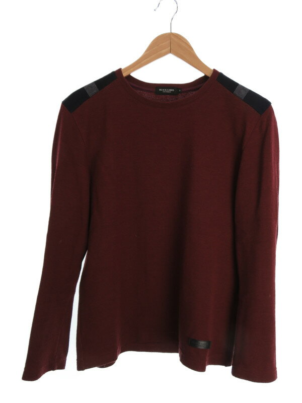 【BLACK LABEL CRESTBRIDGE】【トップス】ブラックレーベルクレストブリッジ『長袖ニット sizeM』51P40-640-15 メンズ セーター 1週間保証【中古】