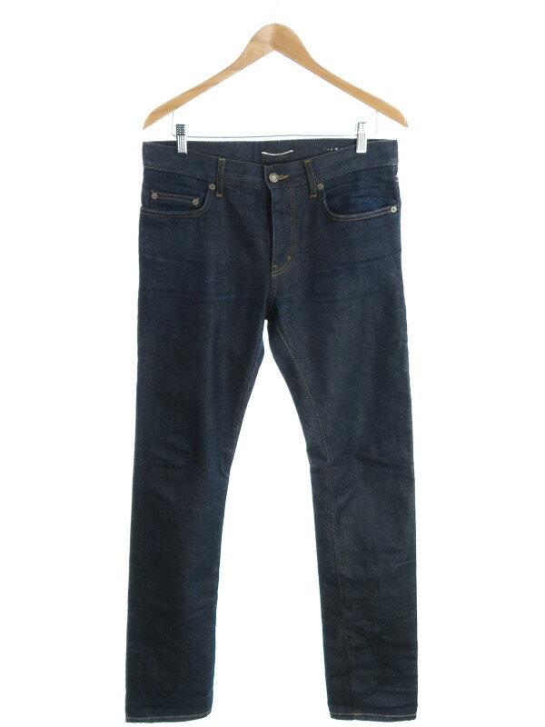 【SAINT LAURENT】【ジーパン】サンローラン『ジーンズ size30』メンズ デニムパンツ 1週間保証【中古】