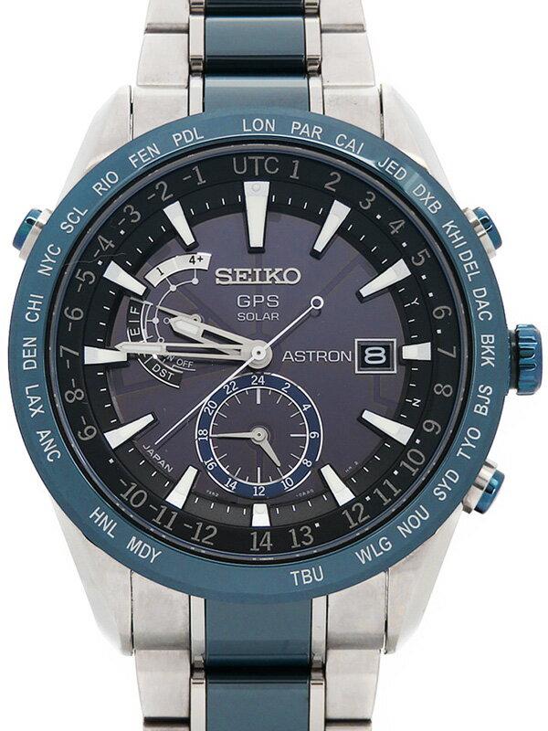 【SEIKO】セイコー『アストロン』SBXA019 43****番 メンズ ソーラーGPS 1ヶ月保証【中古】