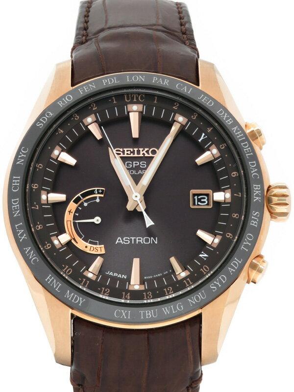 【SEIKO】セイコー『アストロン』SBXB096 8X22-0AG0 66****番 メンズ ソーラー電波GPS 1ヶ月保証【中古】
