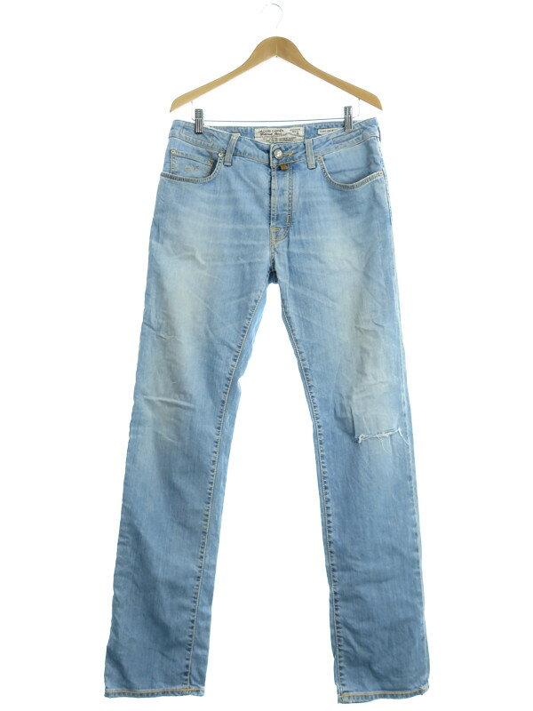 【JACOB COHEN】【ジーパン】【ボトムス】ヤコブコーエン『ジーンズ size33』メンズ デニムパンツ 1週間保証【中古】