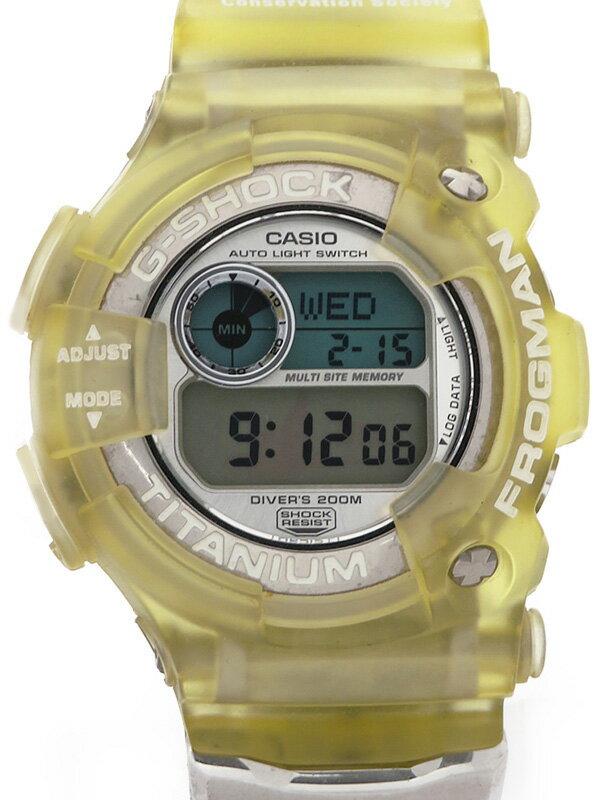 【CASIO】【G-SHOCK】【W.C.C.S】【電池交換済】カシオ『Gショック フロッグマン』DW-9900WC-7T メンズ クォーツ 1週間保証【中古】