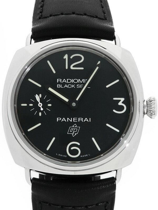 【PANERAI】【'17年購入】パネライ『ラジオミール ブラックシール ロゴ』PAM00380 T番'17年製 メンズ 手巻き 6ヶ月保証【中古】