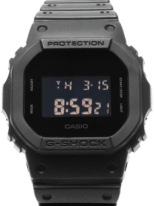 【CASIO】【G-SHOCK】カシオ『Gショック ソリッドカラーズ』DW-5600BB-1JF ボーイズ クォーツ 1週間保証【中古】