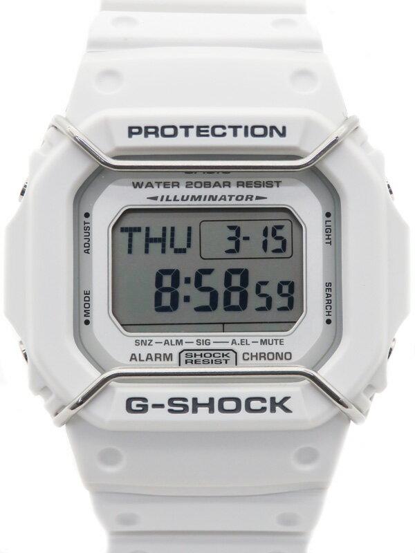 【CASIO】【G-SHOCK】【美品】【'17年購入】カシオ『Gショック』DW-D5600P-7JF ボーイズ クォーツ 1週間保証【中古】