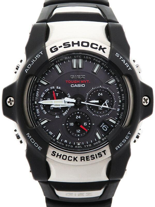 【CASIO】【G-SHOCK】【'17年購入】カシオ『Gショック ジーズ』GS-1400-1AJF メンズ ソーラー電波クォーツ 1週間保証【中古】