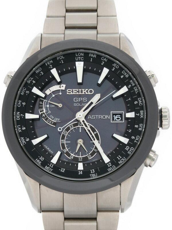 【SEIKO】セイコー『アストロン』SAST003 7X52-0AA0 45****番 メンズ ソーラーGPS 1ヶ月保証【中古】