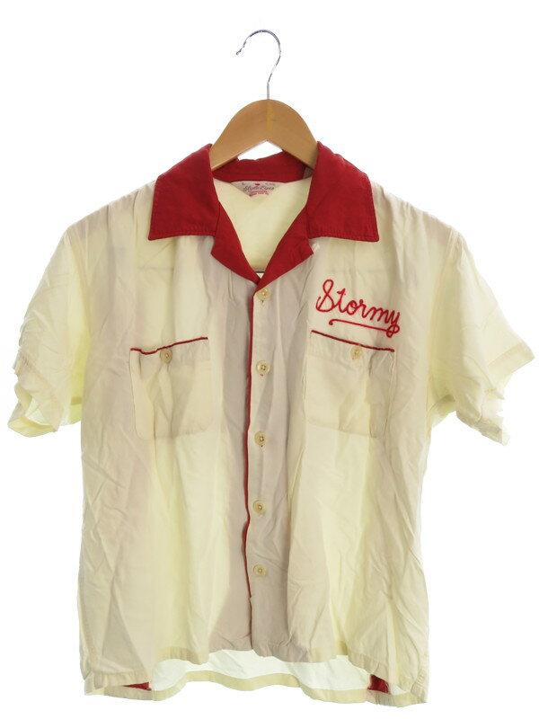 【SUGAR CANE】【トップス】シュガーケーン『半袖シャツ sizeL』メンズ 1週間保証【中古】