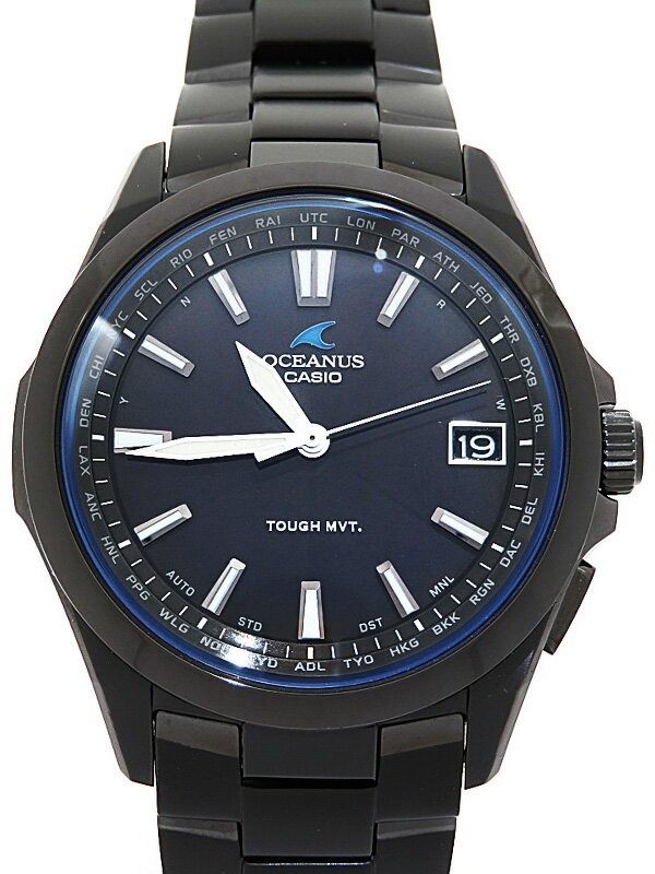 【CASIO】【OCEANUS】カシオ『オシアナス』OCW-S100B-1AJF メンズ ソーラー電波クォーツ 1週間保証【中古】