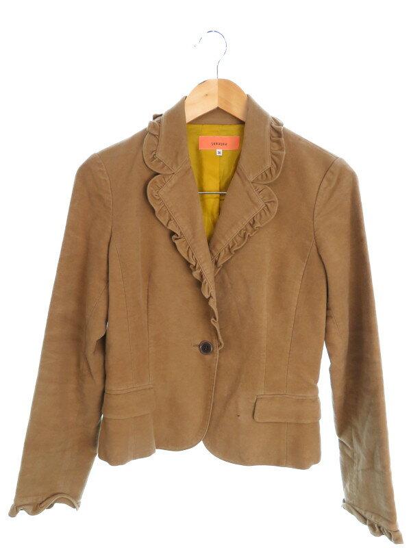 【SunaUna】【アウター】スーナウーナ『ジャケット size4038』レディース テーラードジャケット 1週間保証【中古】
