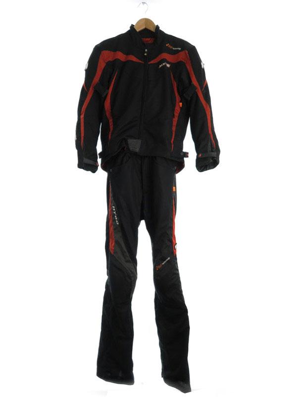 【HYOD】【プロテクター入り】【ジャケットライナー付き】ヒョウドウ『セパレートレーシングスーツ sizeM』メンズ セットアップ 1週間保証【中古】