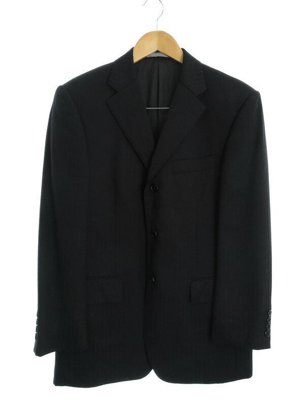 【YUKI TORII HOMME】【上下セット】トリイユキ『ストライプ柄スーツ size90-A4』メンズ セットアップ 1週間保証【中古】