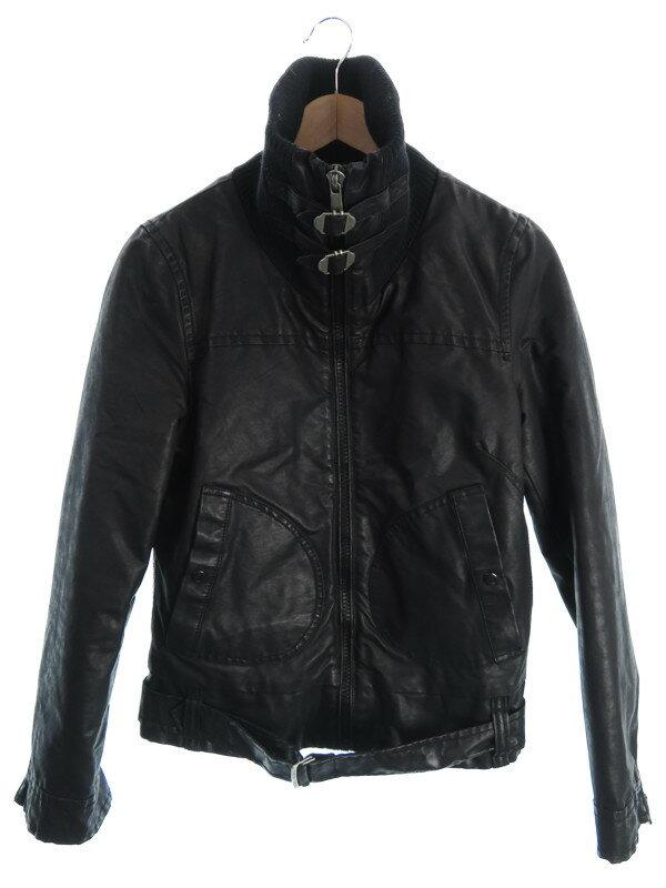 【DIESEL】【アウター】ディーゼル『コーティングジャケット sizeS』レディース ブルゾン 1週間保証【中古】
