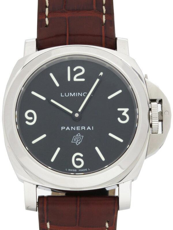 【PANERAI】パネライ『ルミノールベース ロゴ 44mm』PAM00000 J番'07年製 メンズ 手巻き 6ヶ月保証【中古】