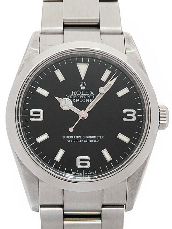 【ROLEX】ロレックス『エクスプローラー1』114270 V番'09年頃製 メンズ 自動巻き 12ヶ月保証【中古】