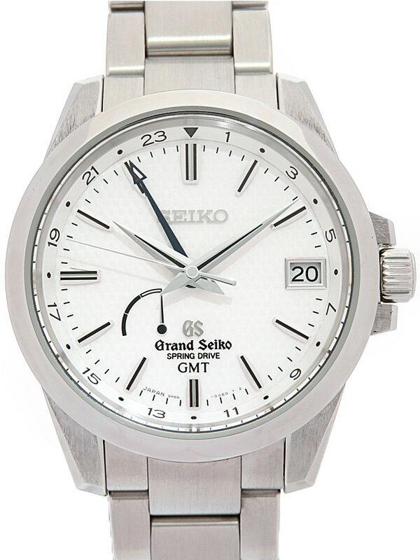 【SEIKO】【GS】セイコー『グランドセイコー GMT』SBGE009 9R66-0AE0 31****番 メンズ スプリングドライブ 6ヶ月保証【中古】