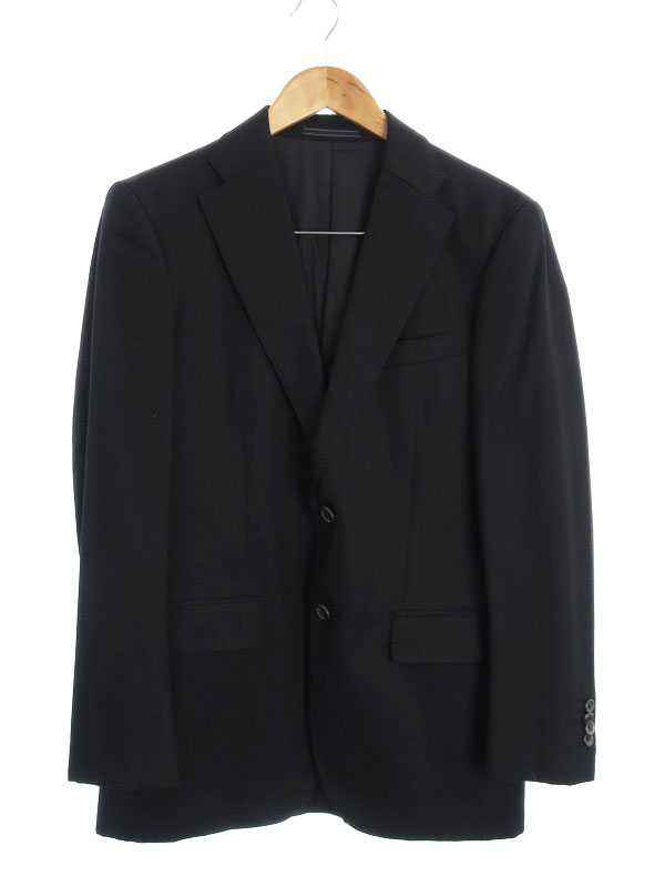 【E.Z BY ZEGNA】【上下セット】イージーバイゼニア『スーツ size48』メンズ セットアップ 1週間保証【中古】