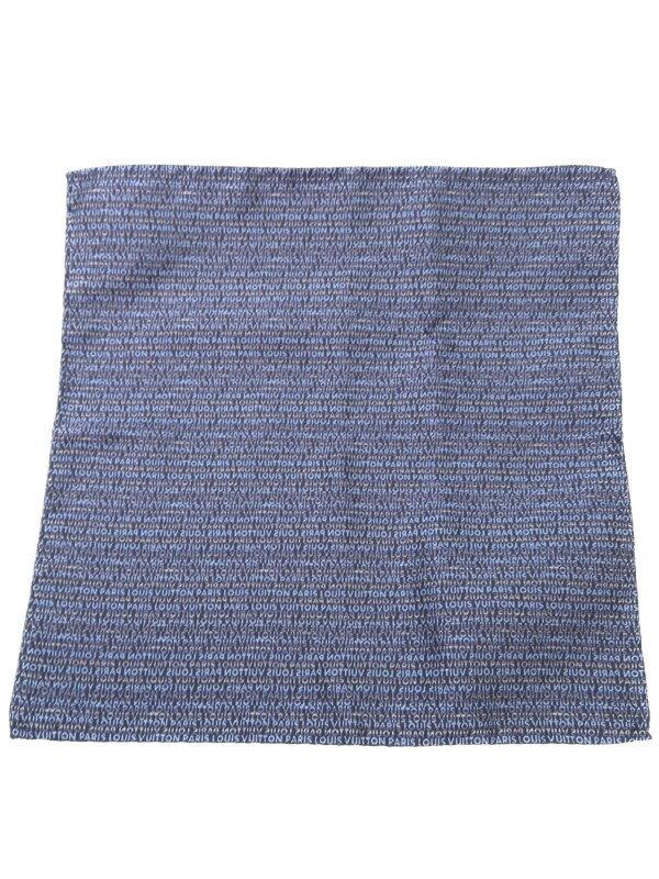 【LOUIS VUITTON】ルイヴィトン『ポケットチーフ』M70598 ユニセックス スカーフ 1週間保証【中古】