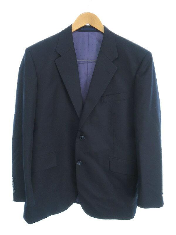 【銀座山形屋】【上下セット】【ベスト付】ギンザヤマガタヤ『3ピース スーツ 』メンズ セットアップ 1週間保証【中古】