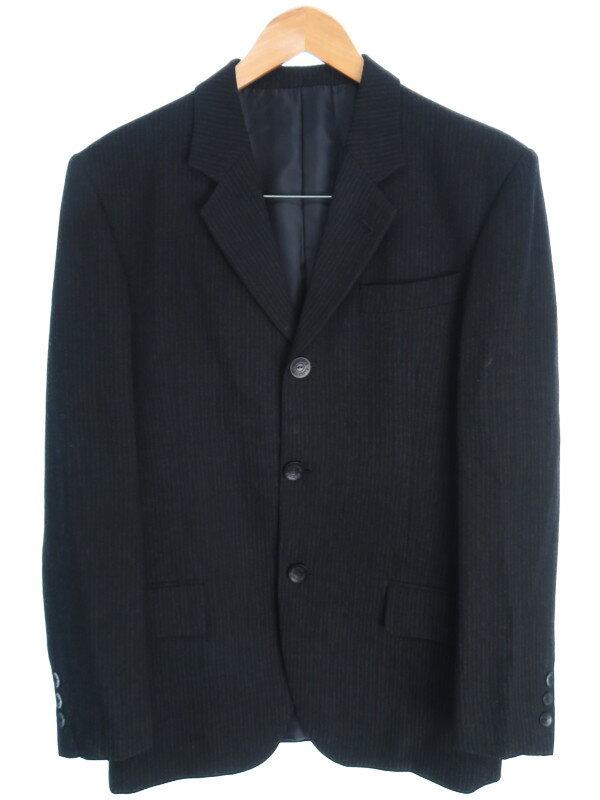 【Jean Paul Gaultier Classique】【上下セット】ジャンポールゴルチエ『ストライプ柄スーツ size46』メンズ セットアップ 1週間保証【中古】