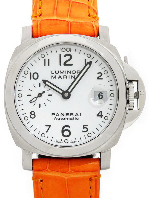 【PANERAI】パネライ『ルミノールマリーナ 40mm』PAM00049 K番'08年製 メンズ 自動巻き 6ヶ月保証【中古】