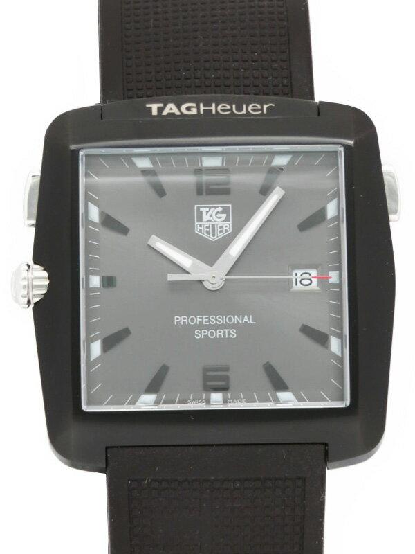 【TAG Heuer】【電池交換済】タグホイヤー『プロフェッショナル スポーツ』WAE1113.FT6004 メンズ クォーツ 1ヶ月保証【中古】