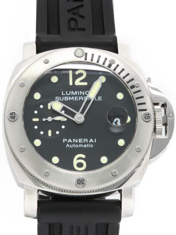 【PANERAI】パネライ『ルミノール サブマーシブル 44mm』PAM00024 P番'13年頃製 メンズ 自動巻き 6ヶ月保証【中古】