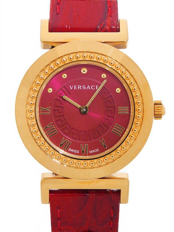 【Versace】【'17年購入】ヴェルサーチ『ヴァニティ』P5Q80D800S800 レディース クォーツ 1週間保証【中古】
