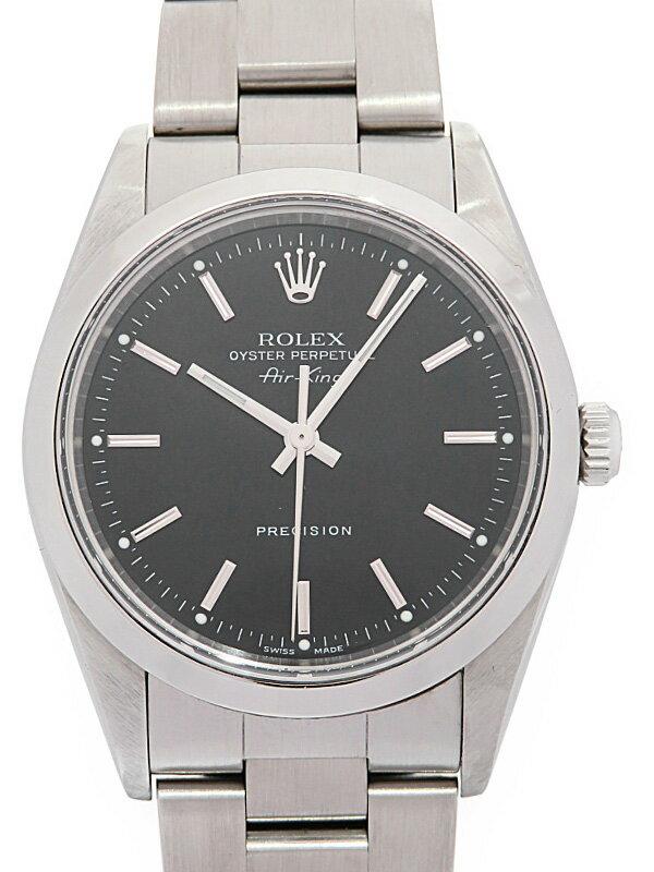【ROLEX】ロレックス『エアキング』14000M Z番'06年頃製 メンズ 自動巻き 12ヶ月保証【中古】