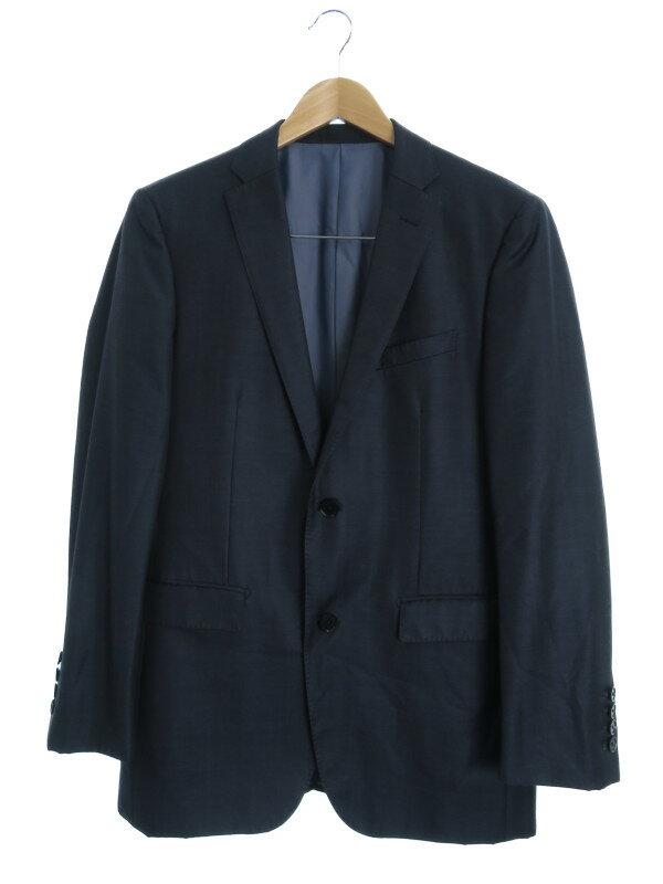 【BURBERRY BLACK LABEL】【2ピース】【セットアップ】バーバリーブラックレーベル『スーツ上下セット size38L』メンズ 1週間保証【中古】