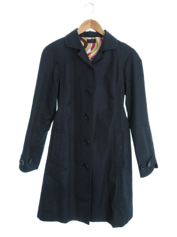 【PaulSmith BLACK】【アウター】ポールスミスブラック『コート size40』レディース 1週間保証【中古】