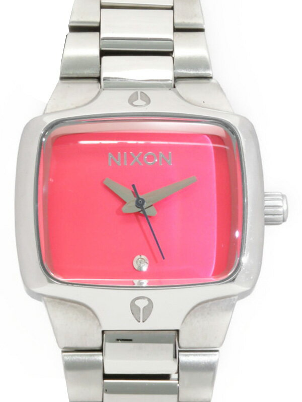 【NIXON】【電池交換済】ニクソン『スモールプレーヤー』NA300685-00 レディース クォーツ 1週間保証【中古】