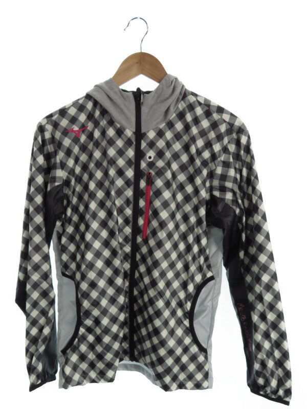 【MIZUNO】【2ピース】【セットアップ】ミズノ『ウインドブレーカーシャツ・パンツ上下セット sizeS』32JE-4110 ユニセックス スポーツウェア 1週間保証【中古】