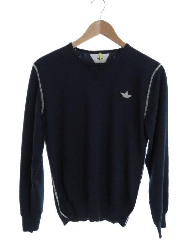 【Macchia J.】【トップス】【KIDS】マッキアジェー『長袖ニット size14』メンズ セーター 1週間保証【中古】