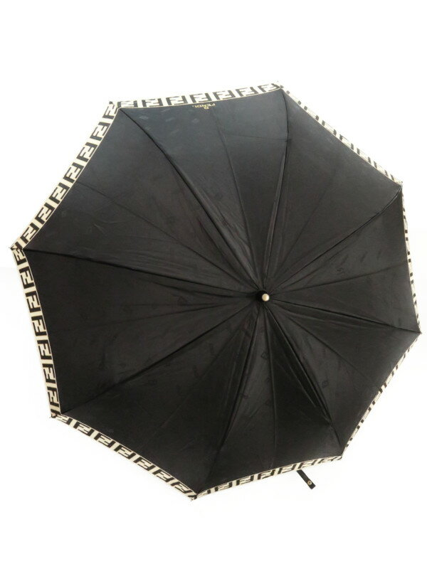 【FENDI】【雨傘】フェンディ『折りたたみ傘』レディース 1週間保証【中古】