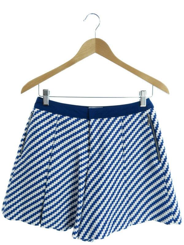 【LANVIN en Bleu】【ボトムス】ランバンオンブルー『キュロットスカート size38』レディース ショートパンツ 1週間保証【中古】