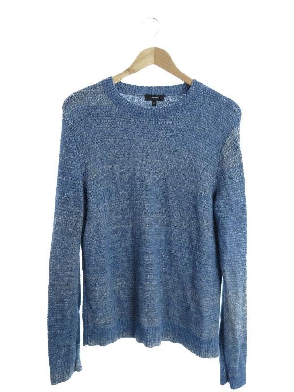 【Theory】【トップス】セオリー『長袖ニット sizeM』メンズ セーター 1週間保証【中古】