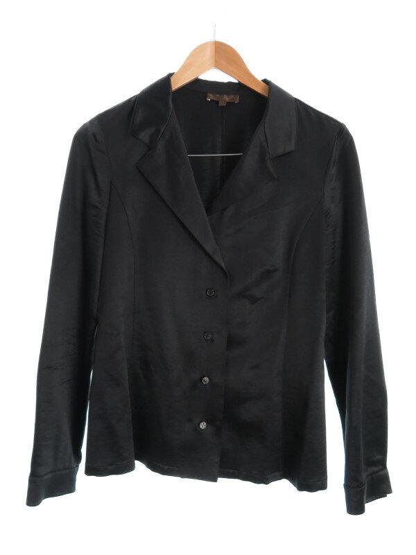 【LOEWE】【トップス】ロエベ『ウールシルク長袖シャツ size40』レディース ブラウス 1週間保証【中古】