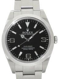 【ROLEX】ロレックス『エクスプローラー1』214270 ランダム番 メンズ 自動巻き 12ヶ月保証【中古】b03w/h16A