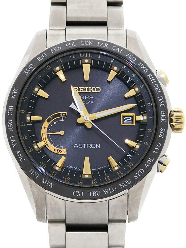 【SEIKO】セイコー『アストロン』SBXB087 8X22-0AG0 65****番 メンズ ソーラーGPS 1ヶ月保証【中古】