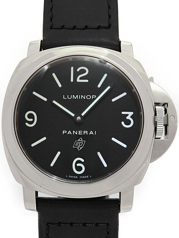 【PANERAI】パネライ『ルミノールベース ロゴ 44mm』PAM00000 K番'08年製 メンズ 手巻き 3ヶ月保証【中古】