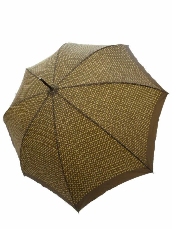 【LOUIS VUITTON】【雨傘】ルイヴィトン『モノグラム柄 長傘』ユニセックス アンブレラ 1週間保証【中古】