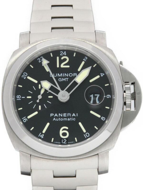 【PANERAI】パネライ『ルミノールGMT 44mm』PAM00297 P番'13年製 メンズ 自動巻き 6ヶ月保証【中古】
